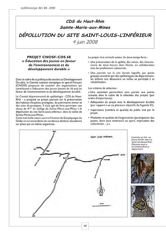 2008 Depollution mine SCOPE 32-1