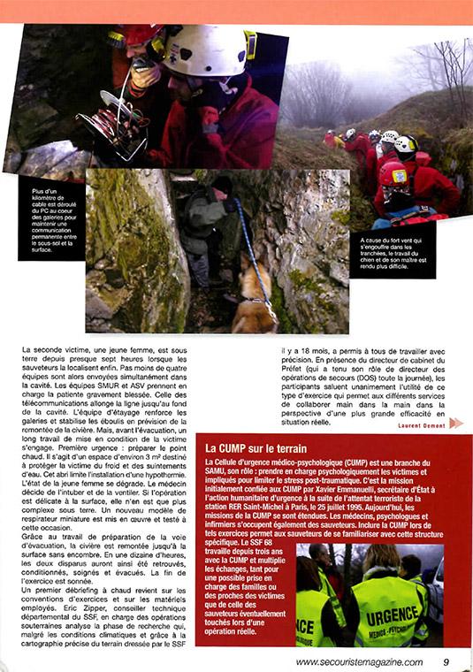 2013 05 Secouriste magazine SSF 68-3