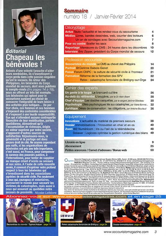 SECOURISTE MAG 18 CMS-2