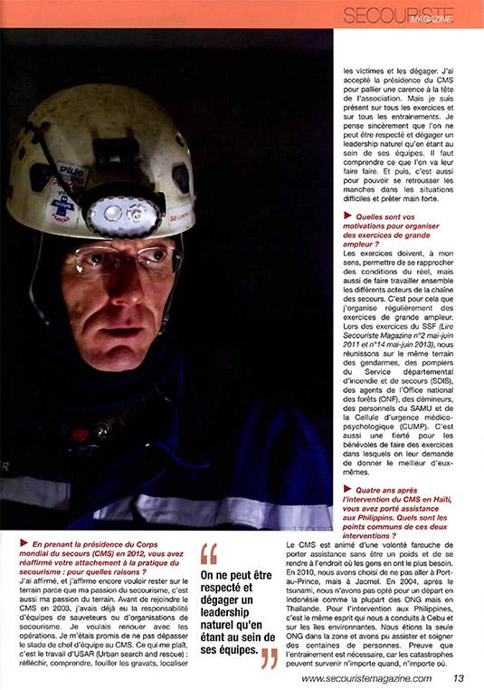 SECOURISTE MAG 18 CMS-6